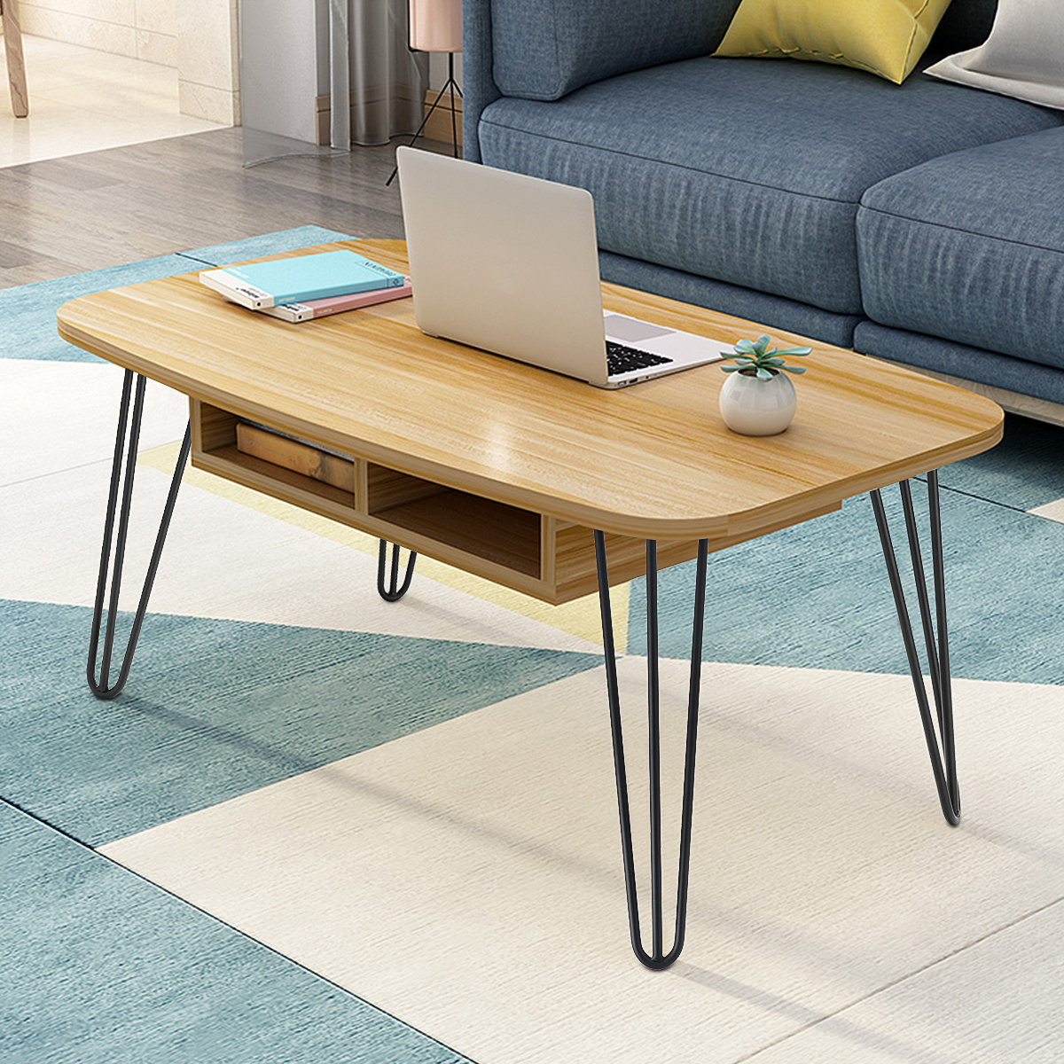 16 industrial vintage table legs set of 4 coffee bench 3 prong iron hairpin leg solid iron laptop desk walmart com