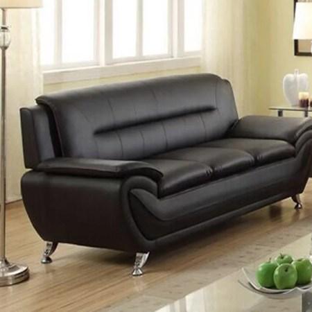 Black Leather Sofa Pictures Centerfieldbarcom