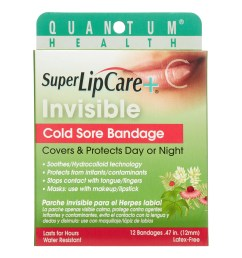 quantum invisible cold sore bandage 12 ct [ 2200 x 2200 Pixel ]