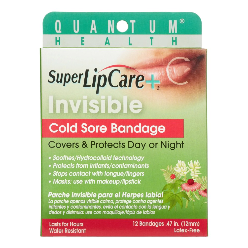 medium resolution of quantum invisible cold sore bandage 12 ct