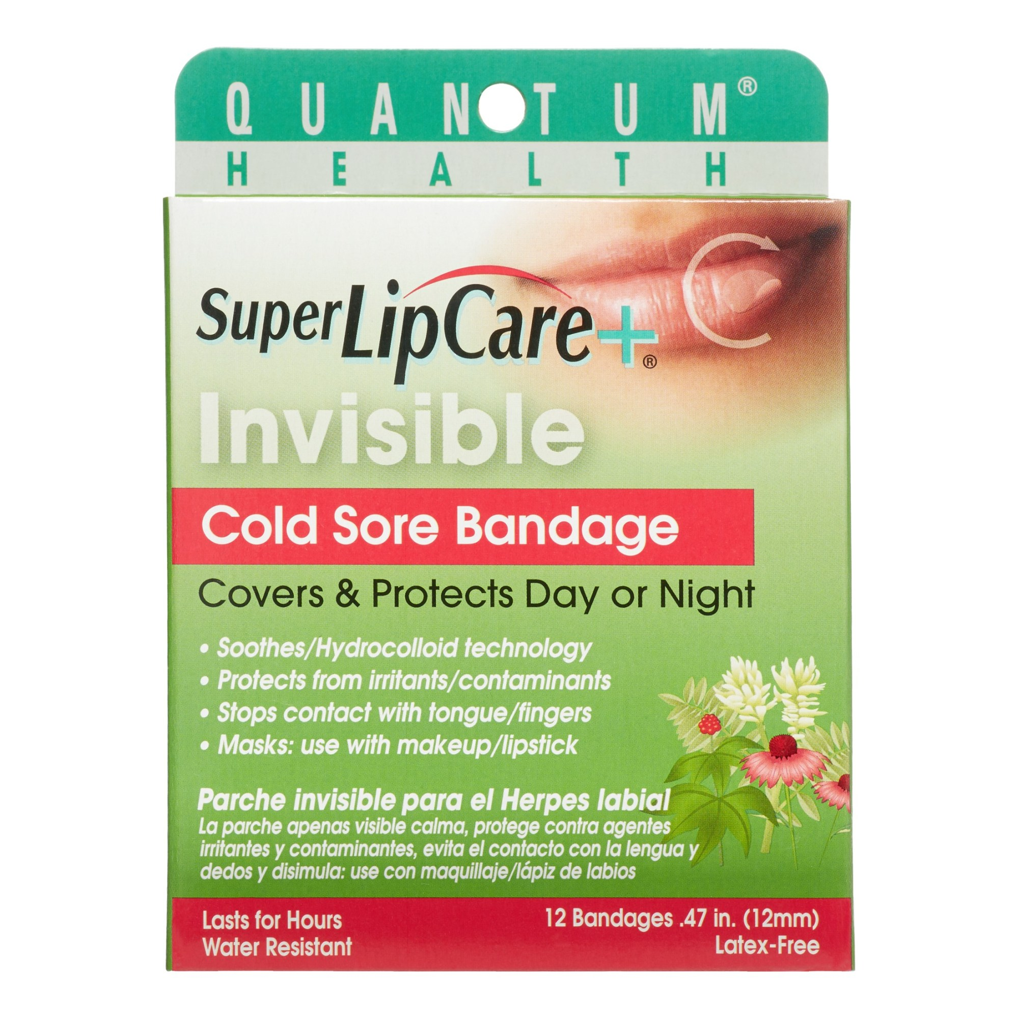 hight resolution of quantum invisible cold sore bandage 12 ct