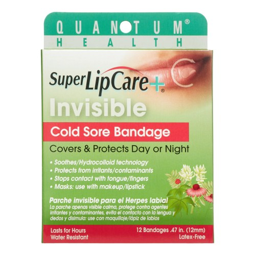 small resolution of quantum invisible cold sore bandage 12 ct