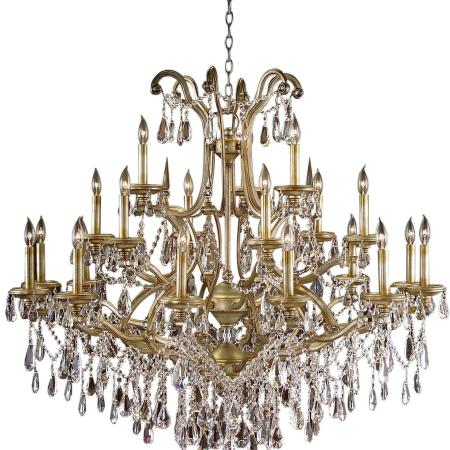 Chandelier John Richard 21 Light Champagne Gilded Gold Ne