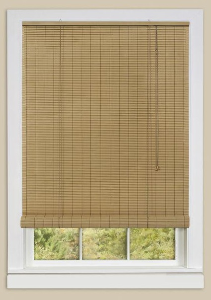 two tone oval rollup window blinds shades
