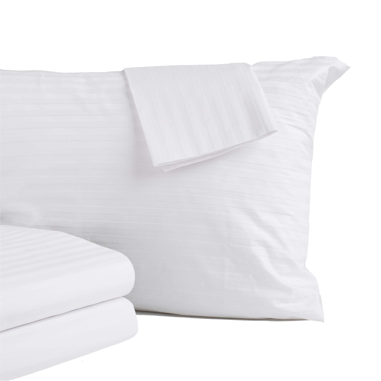 home fashion designs 8 pack premium pillow protectors 100 cotton allergy control bed bug dust mite proof breathable encasement king size