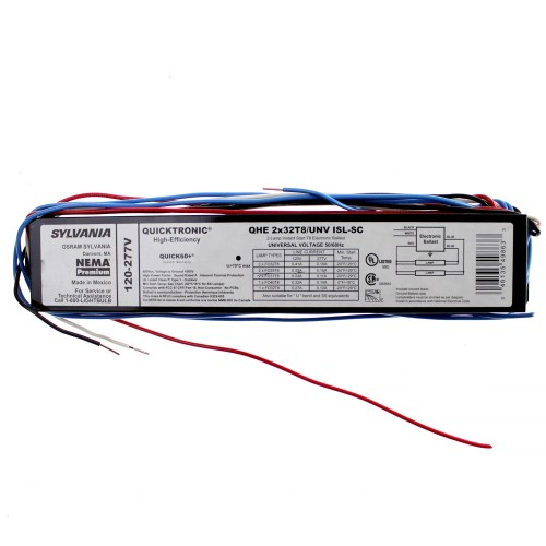 small resolution of sylvania 49863 qhe2x32t8 unv isl sc t8 fluorescent ballast walmart com