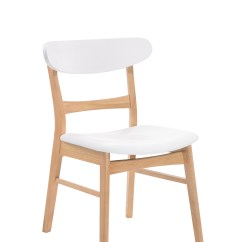 Light Oak Dining Chairs Baby Hight Chair Emerald Home Simplicity White And With Vinyl Upholstered Seat Curved Back Set Of Two Walmart Com