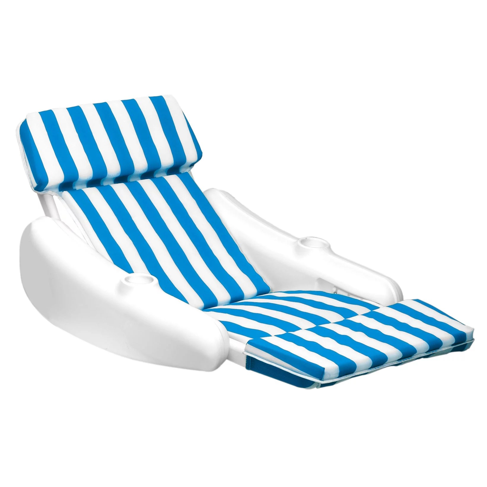 Pool Lounge Chair Swimline 10010 Sunchaser Swimming Pool Padded Floating Luxury Chair Lounger