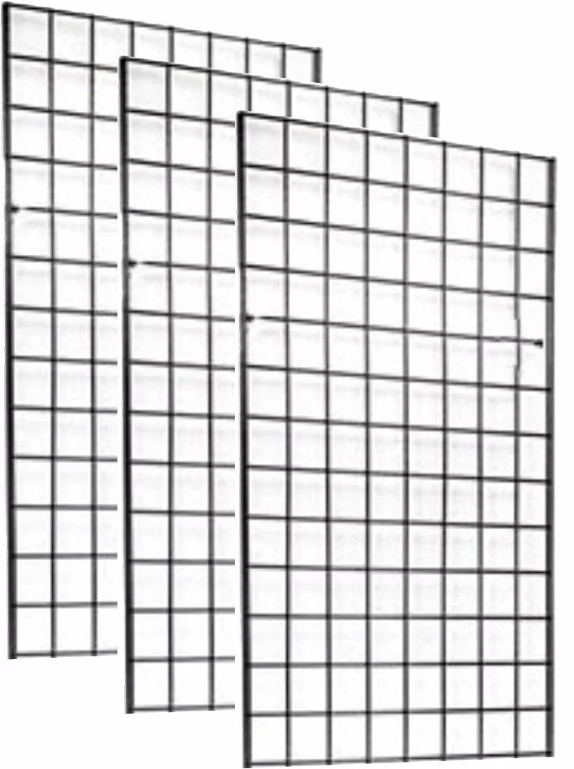 2' x 4' FOOT COMMERCIAL GRADE WIRE GRID WALL PANEL DISPLAY