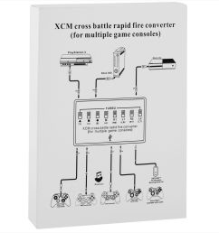 xcm cross battle rapid fire converter for ps3 xbox 360 xbox one walmart com [ 1600 x 1600 Pixel ]