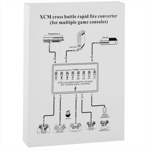 small resolution of xcm cross battle rapid fire converter for ps3 xbox 360 xbox one walmart com