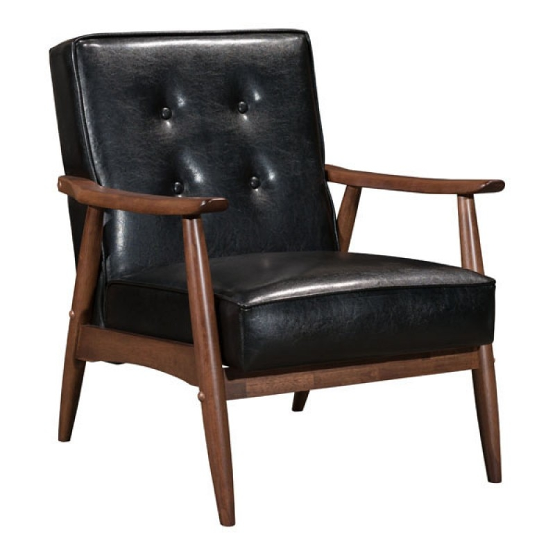 walmart living room chairs best color to paint a small chair comfy mid century modern black com