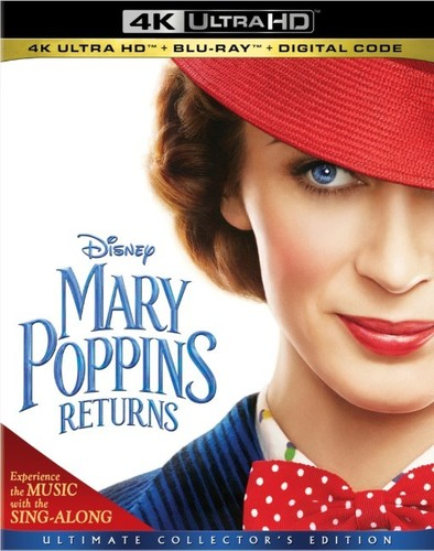 Mary Poppins (roman) : poppins, (roman), Poppins, Returns, Ultra, Blu-ray), Walmart.com