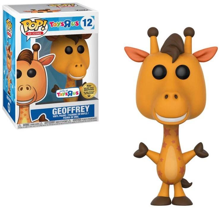 Toys R Us Funko Pop Ad Icons Geoffrey Vinyl Bobble Head