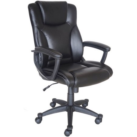 walmart leather office chair Broyhill Bonded Leather Manager Chair - Walmart.com