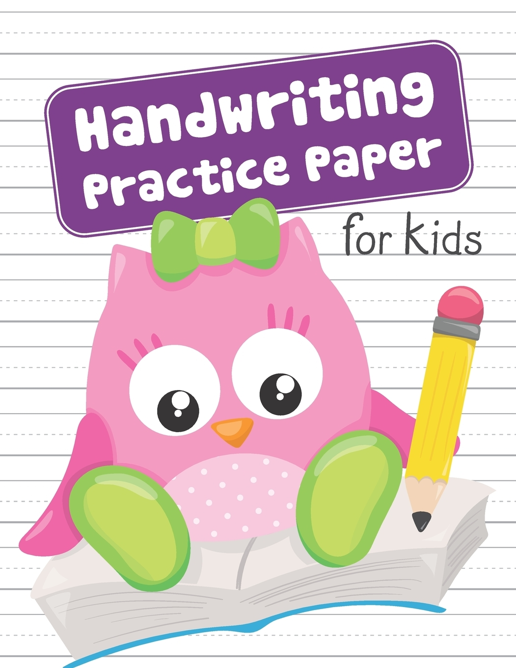 Handwriting Practice Paper For Kids Blank Dotted Lined