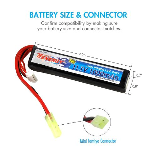 small resolution of  diagram on running tenergy airsoft battery 11 1v 1000mah high capacity lipo stick on running wiring