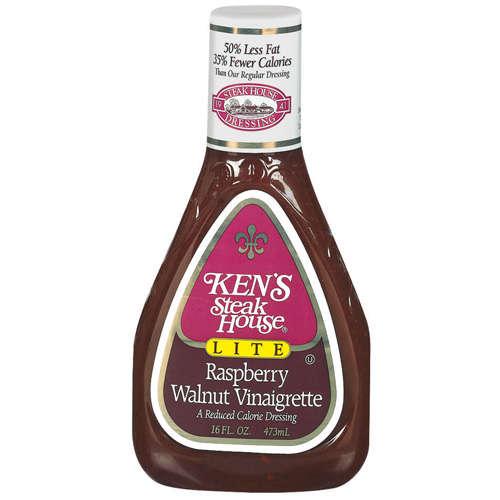 Ken39s Steak House Lite Raspberry Walnut Vinaigrette