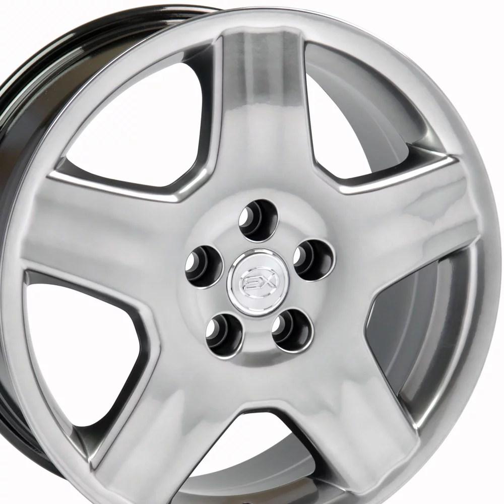 hight resolution of 18x7 5 wheel fits lexus toyota ls 430 style hyper black rim hollander 74179 walmart com