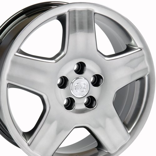 small resolution of 18x7 5 wheel fits lexus toyota ls 430 style hyper black rim hollander 74179 walmart com