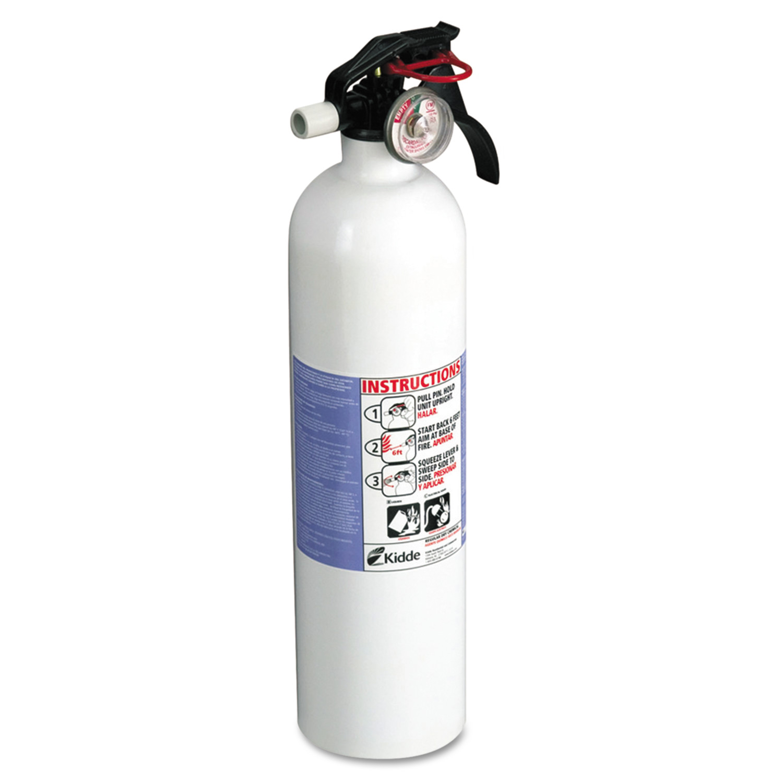 kidde kitchen fire extinguisher task lighting residential series extinguisher, 2.9lb ...