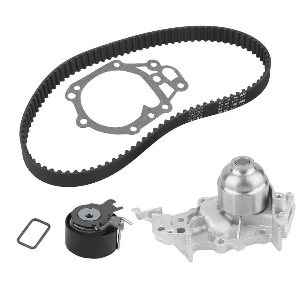 medium resolution of car engine timing belt kit cambelt timing suit with water pump tensioner pulley for renault clio mk ii iii 1 2 16v