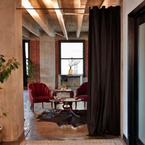 RoomDividersNow Muslin Room Divider Curtain Panel