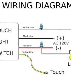 hqrp touch light switch lo me hi off table lamp module sensor 150w 120v hqrp coaster walmart com [ 1200 x 936 Pixel ]