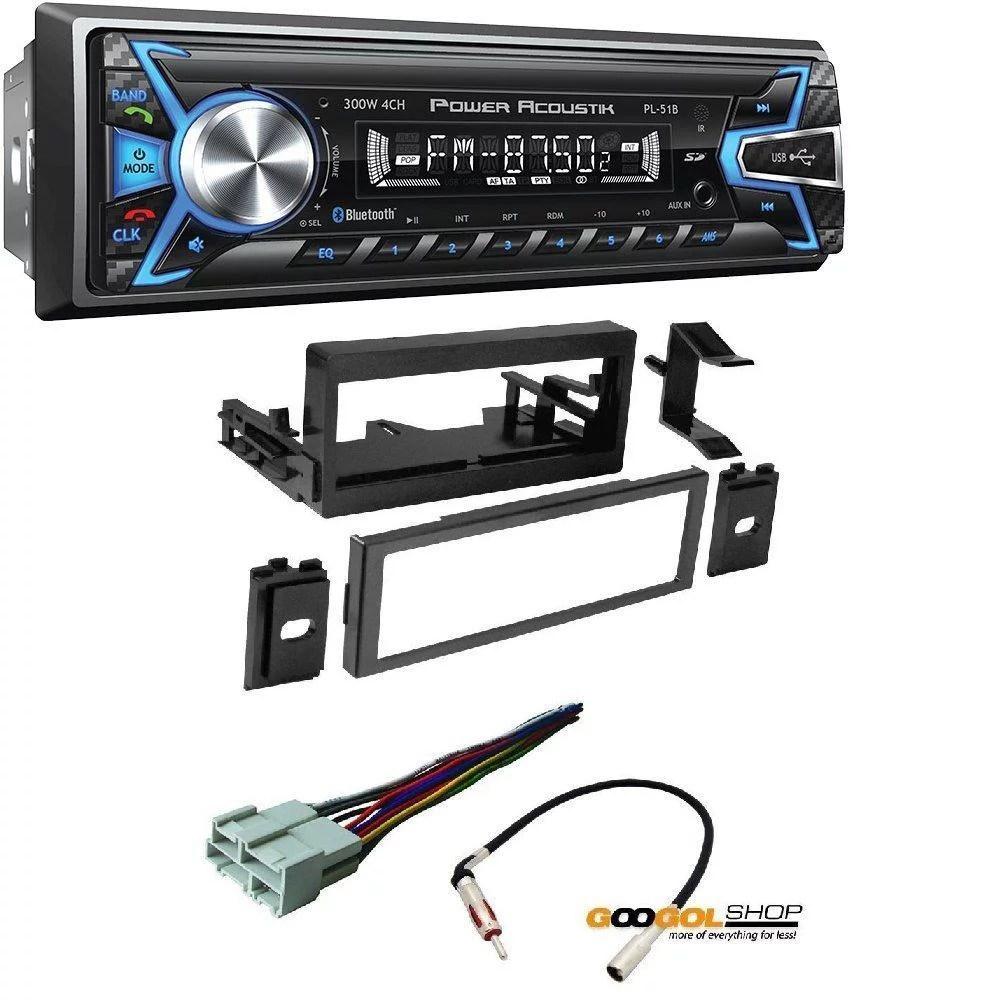 hight resolution of power acoustik pl 51b 1 din digital audio head unit with 32gb usb sd tripp lite power acoustik wiring harness