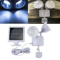 Led Solar Powered Light with Motion Sensor for Home Garage ...