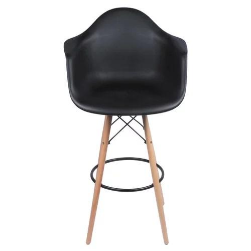 eames arm chair rattan rocking ikea with bar stool legs walmart com