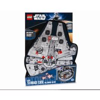 ZipBin Lego Star Wars Small Millennium Falcon Minifigure ...