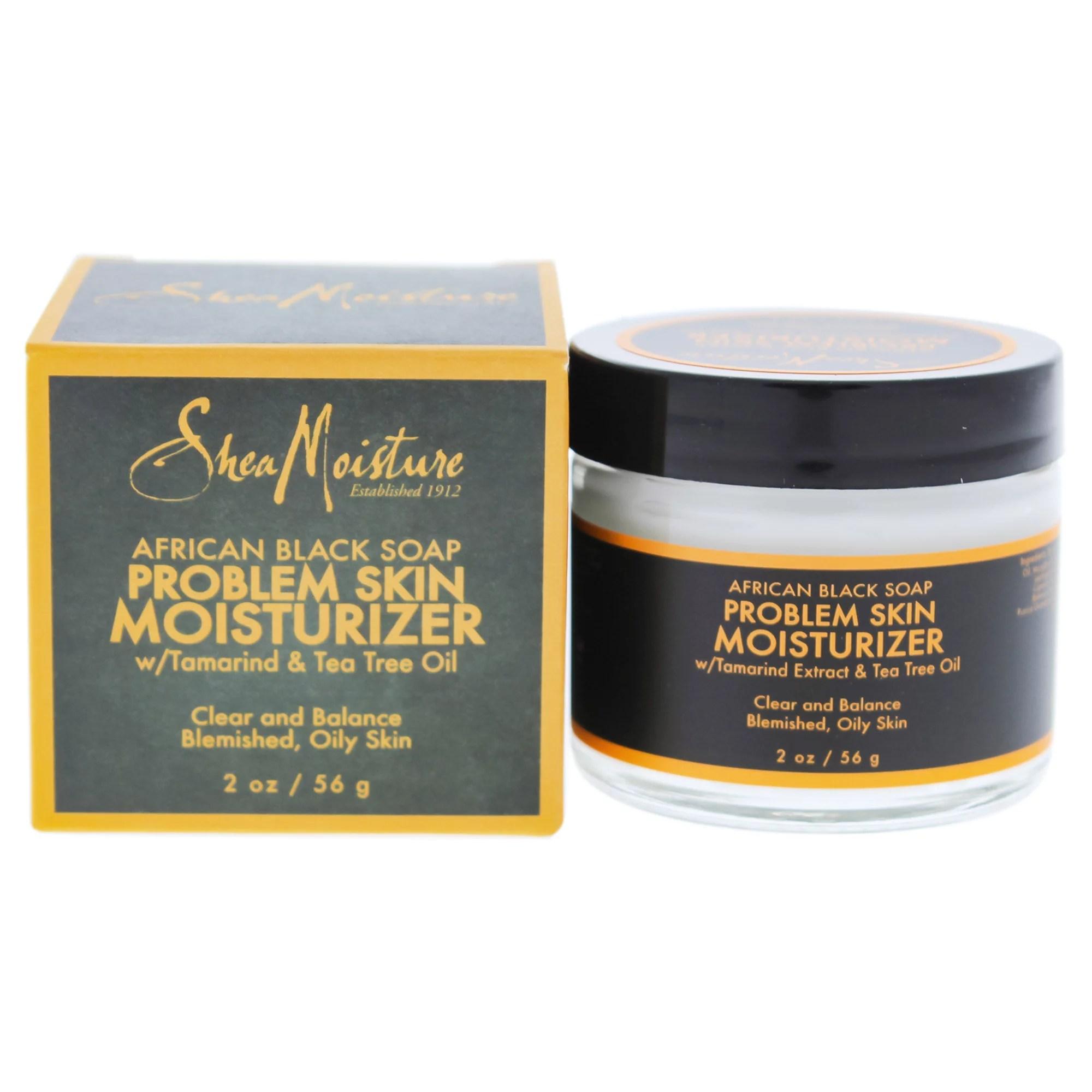African Black Soap Problem Skin Moisturizer by Shea ...