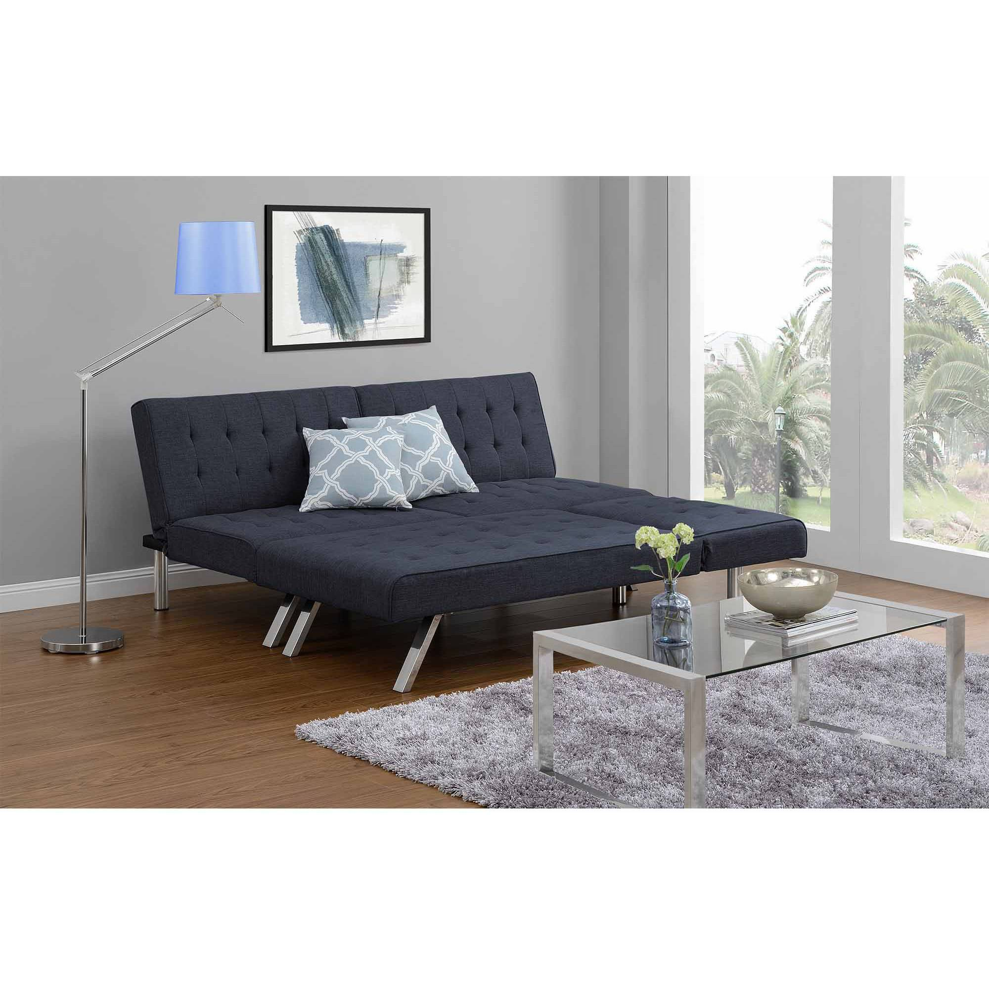 tomas fabric sofa chaise convertible bed dark java cat scratch cover futon