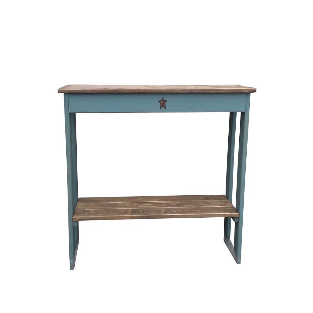 furniture barn usa primitive rustic country style sofa table walmart com