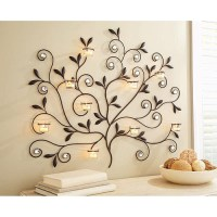 Better Homes and Gardens Tree Votive Sconce, Oil-Rubbed ...