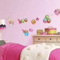 RoomMates Shopkins Peel and Stick Wall Decals - Walmart.com