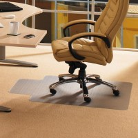 Office Chair Mat with Lip Desk Plastic for Low Pile Carpet ...