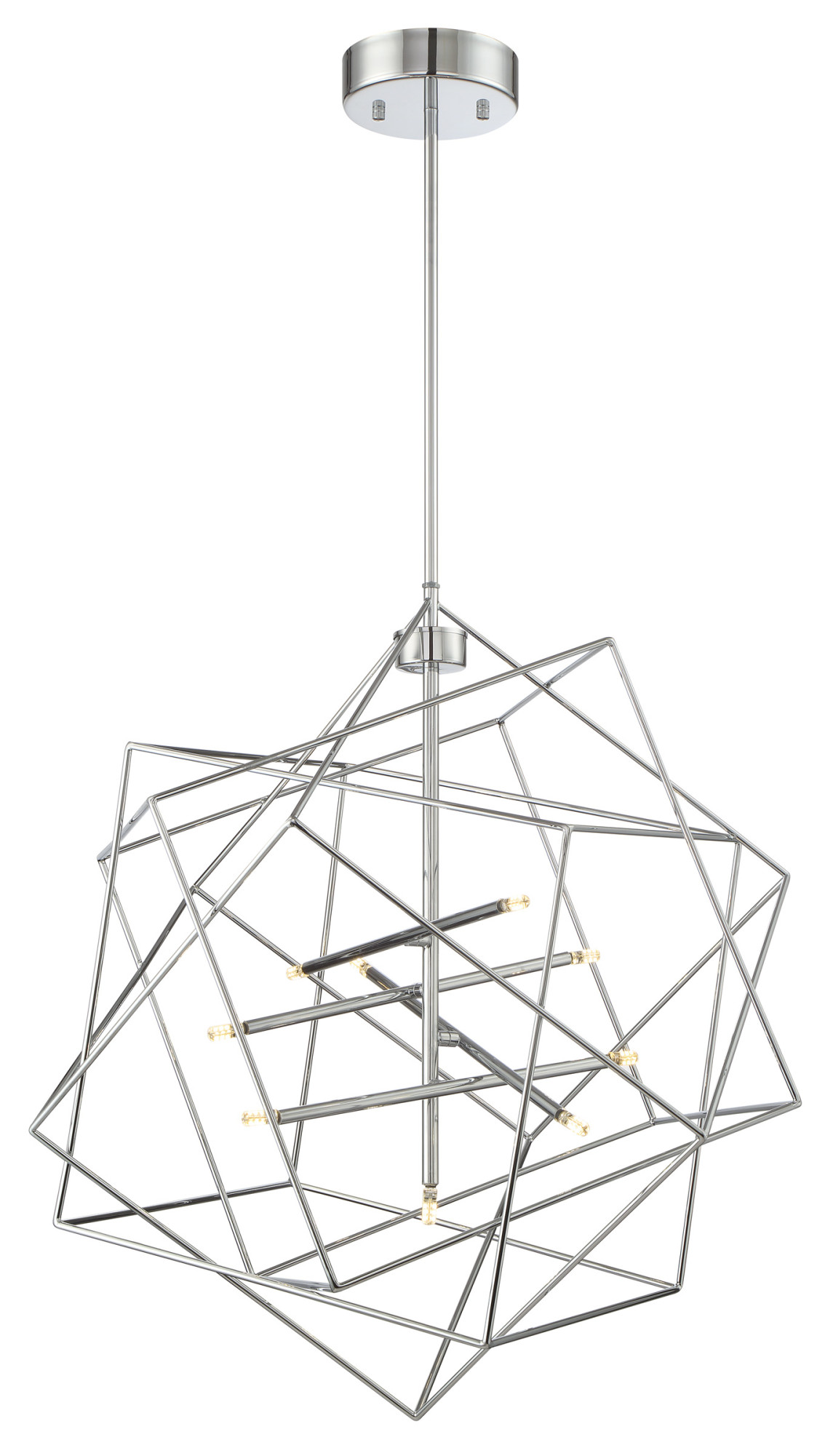 Lite Source Ls Stacia 9 Light 26 Wide Led Abstract