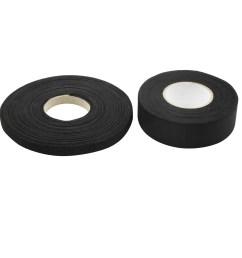 2 in 1 black universal adhesive fabric cloth auto car wire harness looms tape walmart com [ 2000 x 2000 Pixel ]