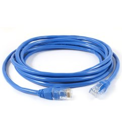 rj45 male cat5e lan network ethernet cable wire cord blue 3meter long [ 1100 x 1100 Pixel ]