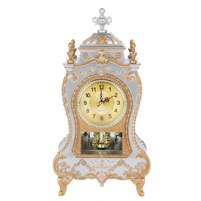 Noref Vintage Style Plastic Table Clock
