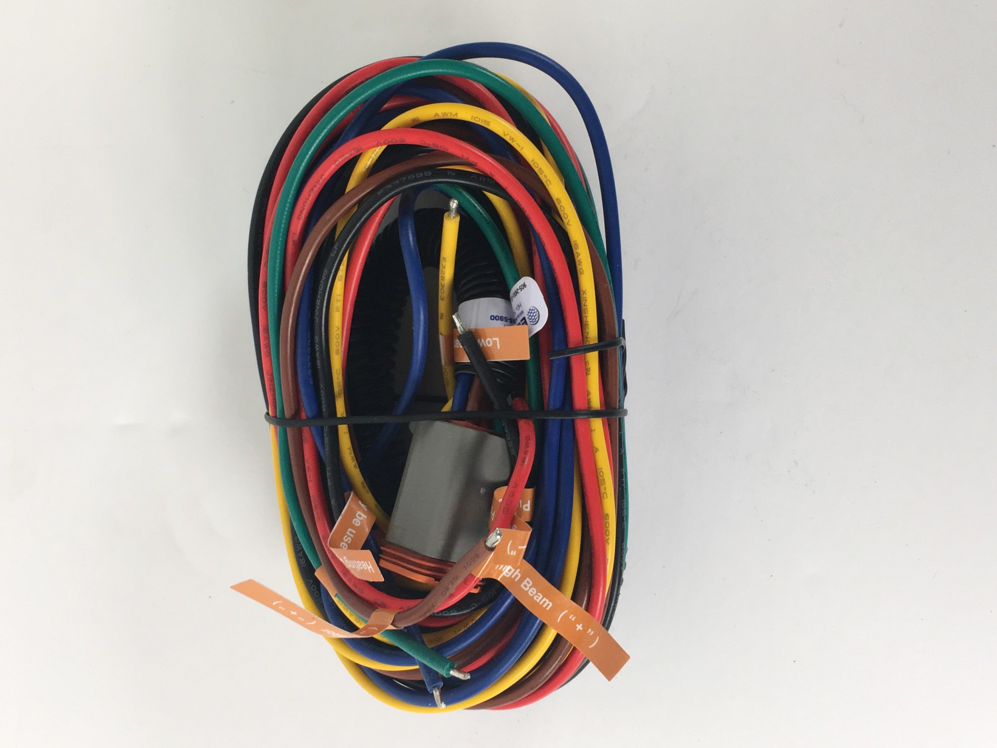 hight resolution of ecco electronic ez4010 wire spotlight wiring harness extension replacement for ew4010 series work light zoomed image