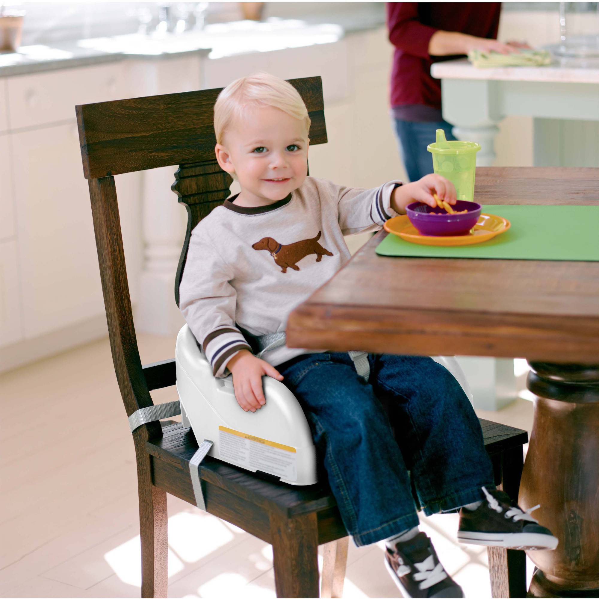 Booster High Chair Seat Graco Blossom Toddler Highchair Booster Seat White