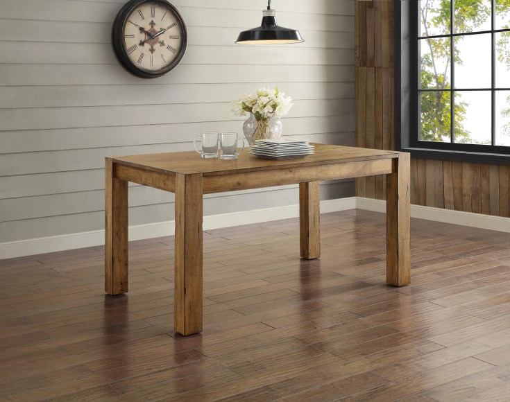 better homes & gardens bryant dining table, multiple finishes