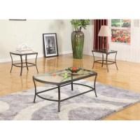 InRoom Designs Coffee Table Set - Walmart.com