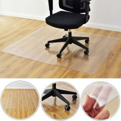 Office Chair Mat For Hardwood Floors Modern Tables And Chairs Costway 47 X 59 Pvc Floor Home Protector Hard Wood Walmart Com