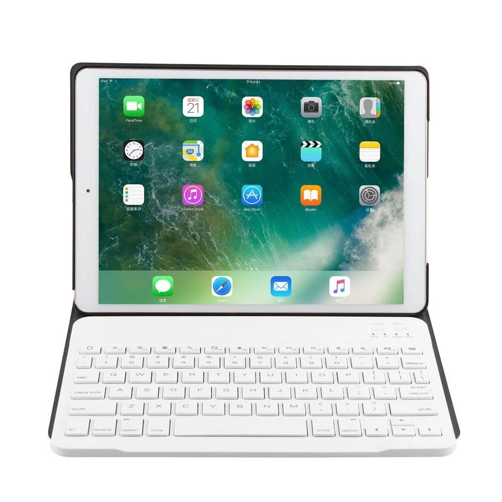 Ultra-thin Wireless Bluetooth Keyboard Auto Sleep PU Cover For iPad Pro10.5   Walmart Canada
