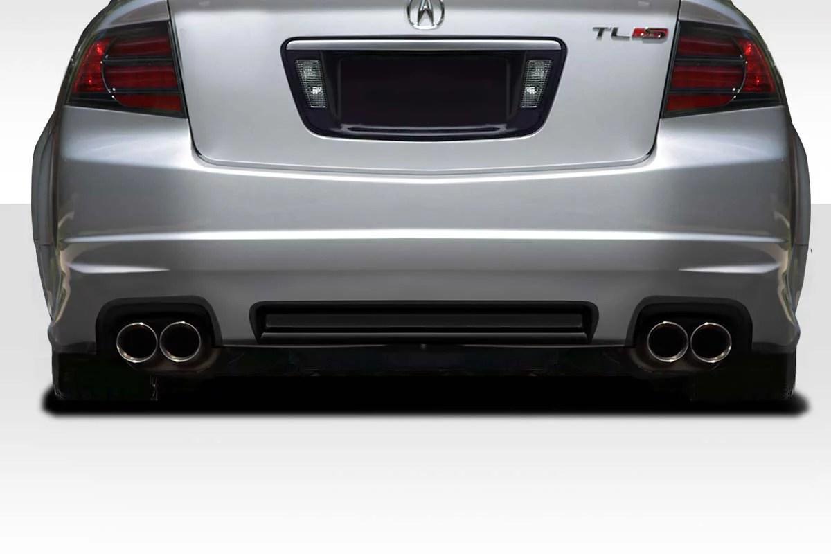 2004 2008 acura tl type s duraflex aspec look rear lip 1 piece