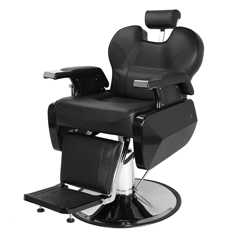 Reclining Makeup Chair Zimtown 360 Swivel Barber Chair Portable Reclining Hydraulic Chair Seat Equipment All Purpose Classic Saloon Shop Station Furniture For Hair